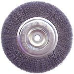 Bench Wheel Wire Brush