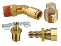 Brass Fittings, Fluid and Air