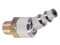Air Tool Coupler, Ball Swivel