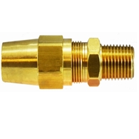 Brass DOT Male Adapter For Copper Tubing