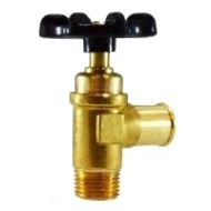 Hose to Male Pipe Shut-Off Valve