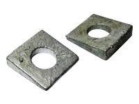Square Beveled Washers, F436 Inch