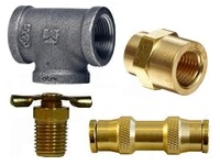 Brass & Iron Pipe Fittings