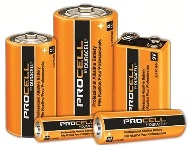 Batteries, Duracell ProCELL