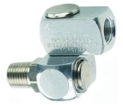Air Tool Coupler, 360° Swivel