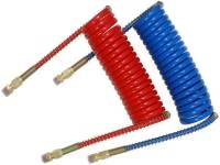 Coiled Glandhand Hose, Set