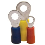 Ring Terminals, Partial Insulated